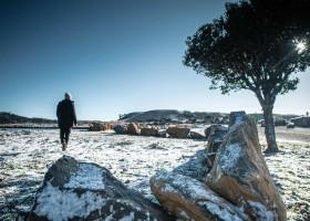 Frio, geada e neve: veja fotos e vídeos da paisagem do Sul...