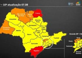 Governo de SP autoriza jornada de 8h para comércios da fase amarela