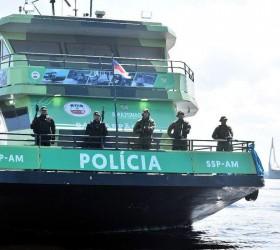 Programa Vigia inaugura base fluvial para combate ao tráfico