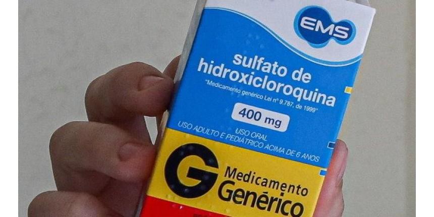 Covid-19: Hidroxicloroquina reduz risco de morte em 30%, diz estudo