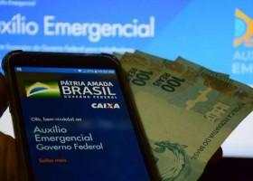 Mais 5,2 milhões recebem parcelas do auxílio nesta quarta-feira