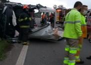 Sete pacientes de Paraguaçu Paulista ficam feridos em engavetamento na...