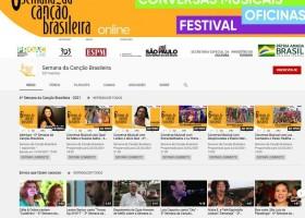 6ª Semana da Canção Brasileira começa hoje de forma virtual