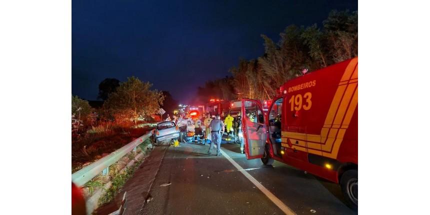 Jovens de 22 e 24 anos estão entre as vítimas de acidente com cinco mortes