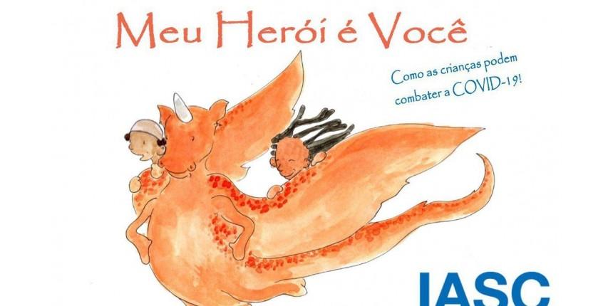 Livro ajuda crianças a se protegerem do novo coronavírus