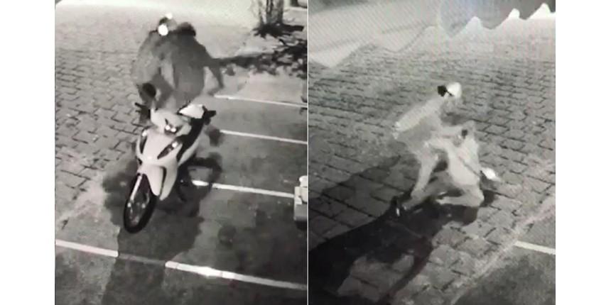 Vídeo mostra momento em que mulher luta com ex e escapa de ser morta a facadas em Garça