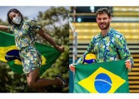 Olimpíada: Bruninho e Ketleyn Quadros serão porta-bandeiras do Brasil