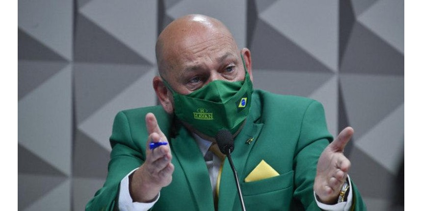 Hang promete ir à Justiça contra senadores da CPI da Covid